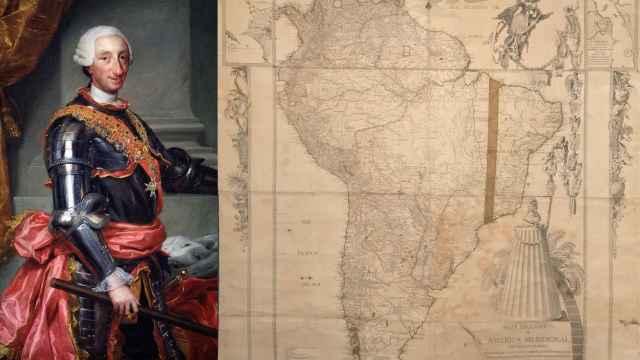 Carlos III y el mapa secuestrado.
