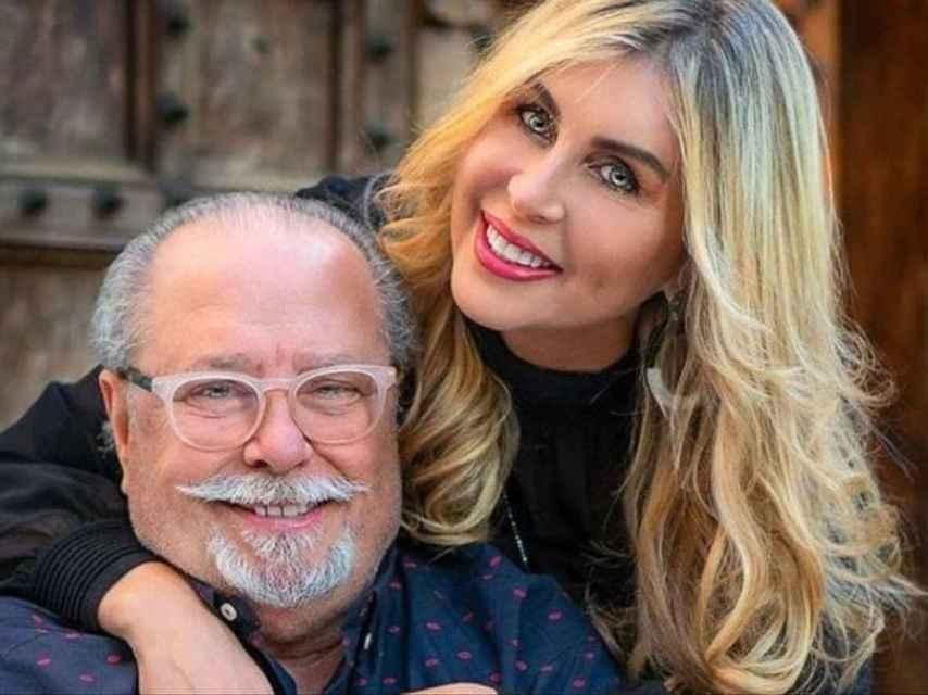 Paco Arévalo y Malena Gracia en una imagen de sus redes sociales.