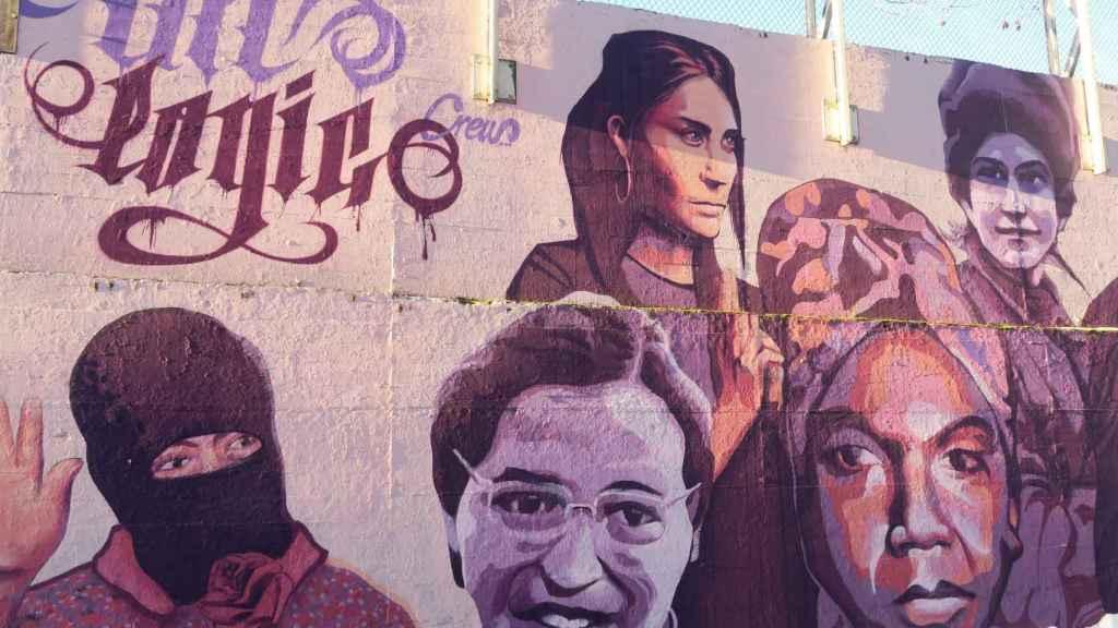 El mural que Vox quiere borrar.
