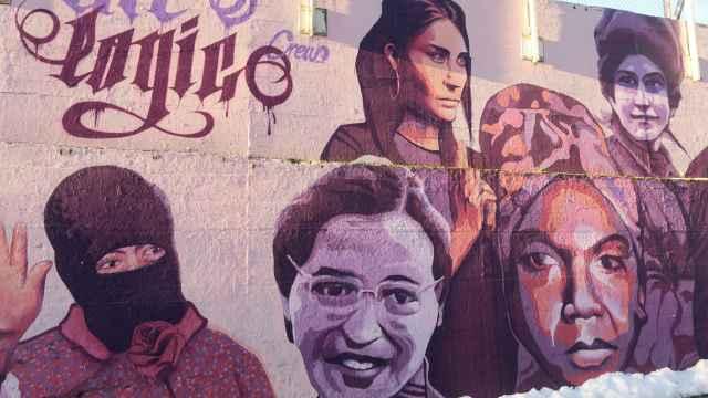 El mural que Vox pretendía borrar.