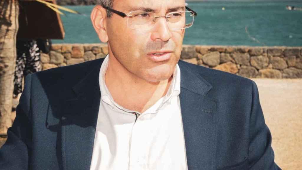 El alcalde de Teguise, Oswaldo Betancourt.