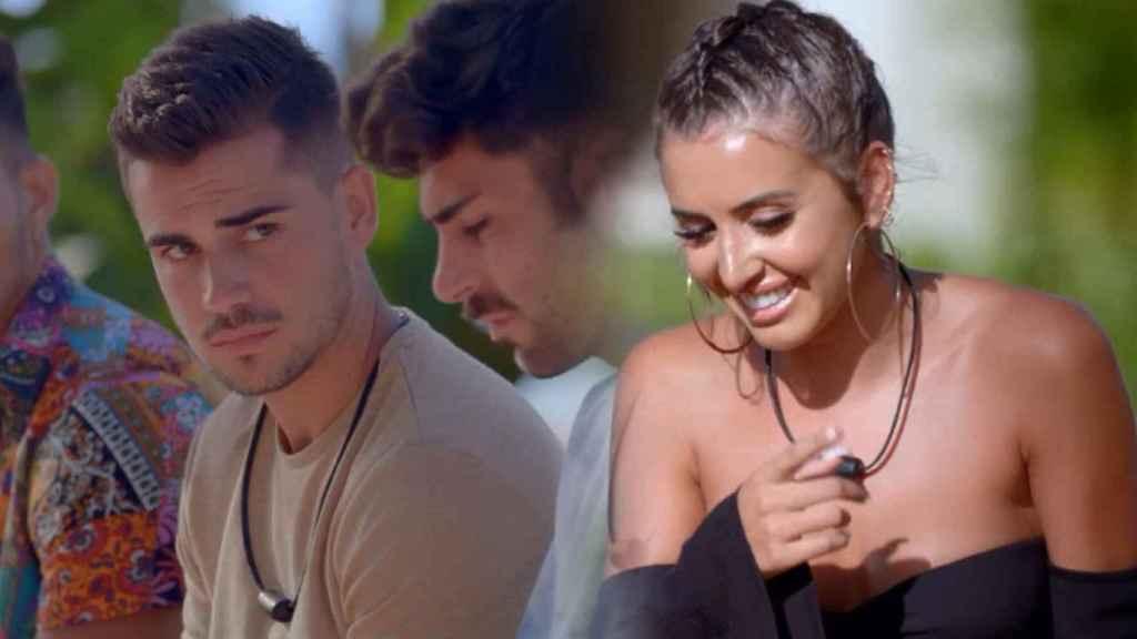 Marina ya confesó su atracción por Isaac en el estreno de 'La isla de las tentaciones'.