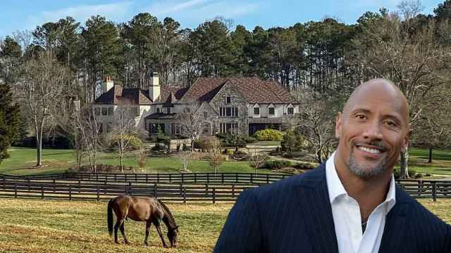 Dwayne Johnson 'la Roca' vende su finca ecuestre en Georgia por seis millones de euros