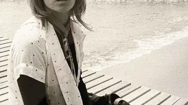 Nathalie Delon a principios de los 70.