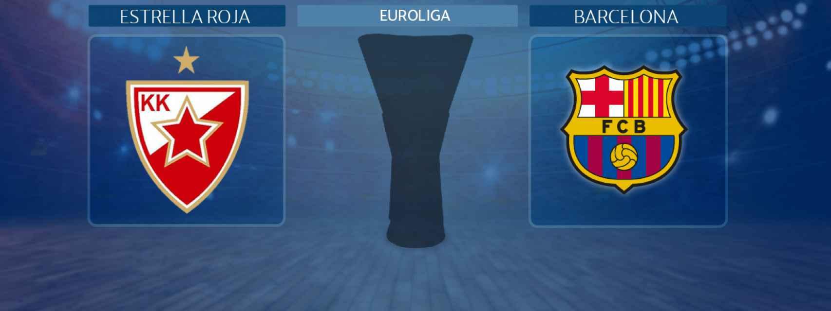Estrella Roja - Barcelona, partido de la Euroliga