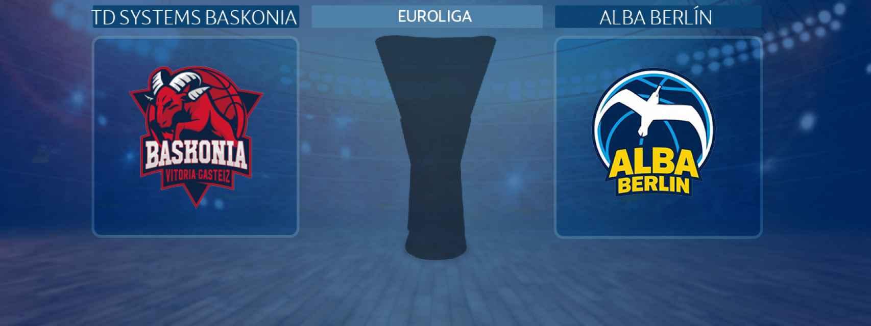 TD Systems Baskonia - Alba Berlín, partido de la Euroliga
