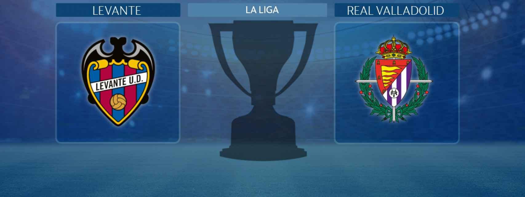 Levante - Real Valladolid, partido de La Liga