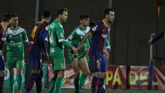 Cornellà y Barça se enfrentan en el partido de Copa del Rey