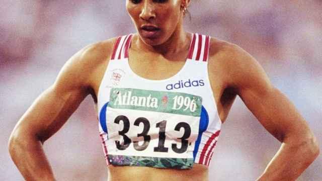 Kelly Holmes en los Juegos Olímpicos de Atlanta 1996