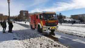 Los bomberos de Madrid no tenían cadenas cuando llegó Filomena: así era el plan del Ayuntamiento