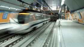Imagen de una estación de Metro de Madrid.