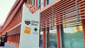 El servicio de 'Click & drive' del centro comercial Torre Sevilla.