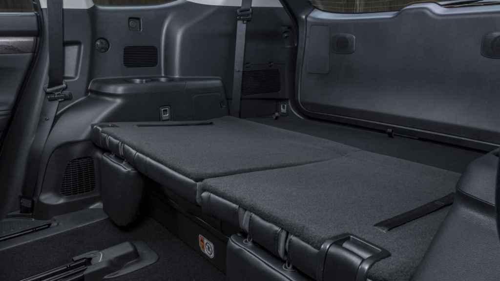 El maletero es de los más grandes de la categoría.