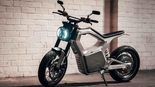 Así es la nueva motocicleta eléctrica de Sondors.