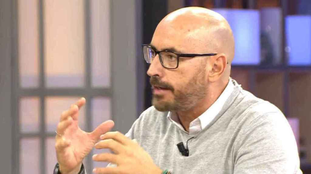 Diego Arrabal, en una de las emisiones de 'Viva la vida'.