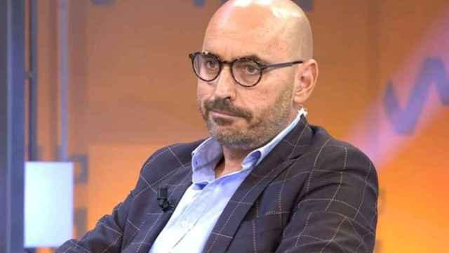 Diego Arrabal durante la emisión de un programa de 'Viva la vida'.