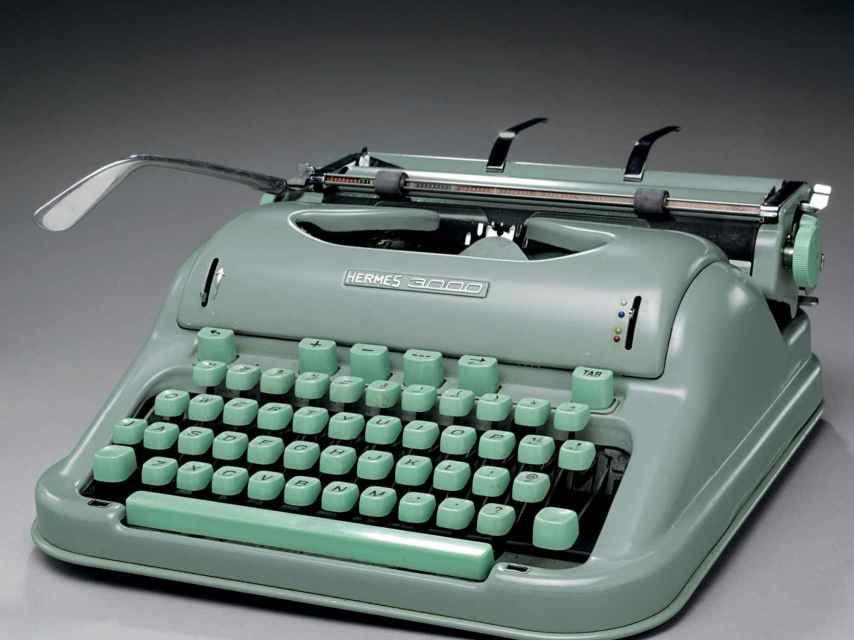 La maquina de Jack Kerouac, la Hermes 3000.