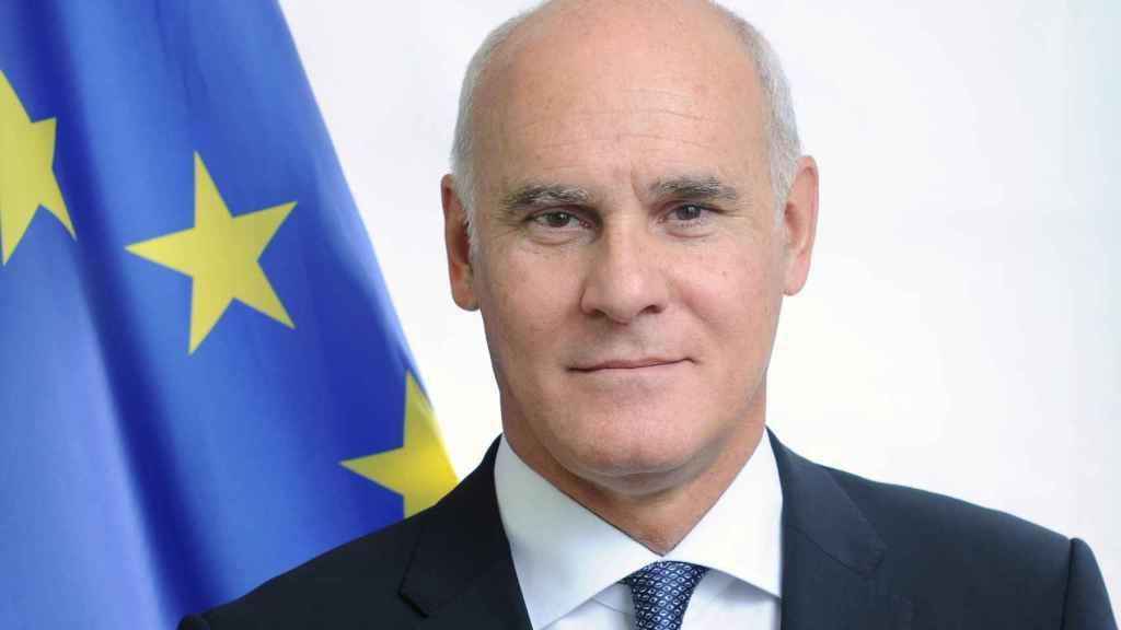 El representante de la UE en Reino Unido, Joao Vale de Almeida.