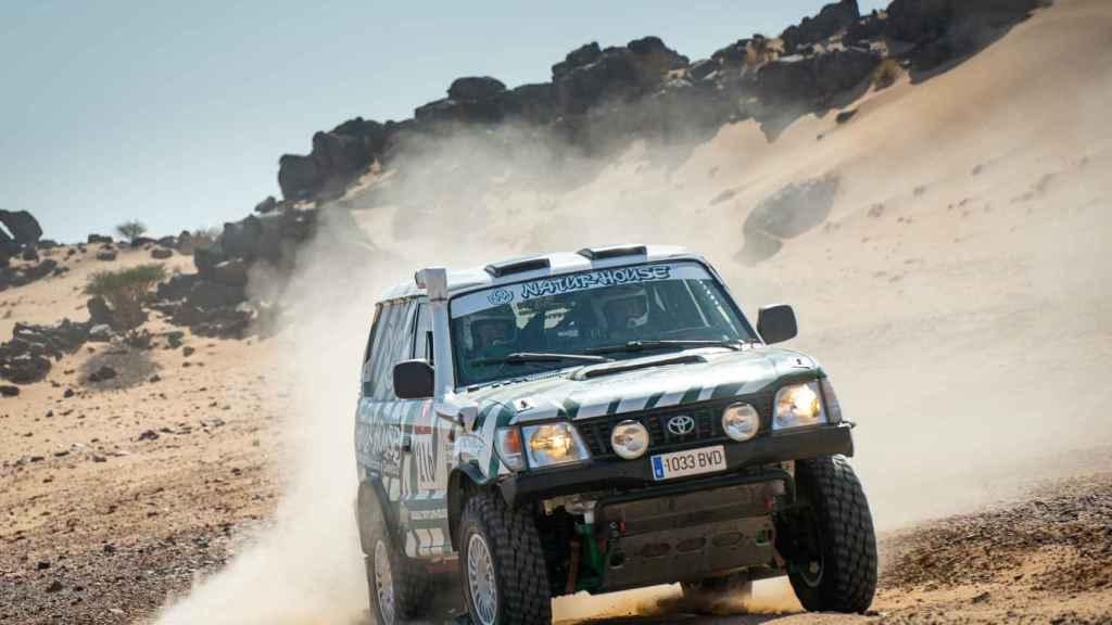 Kilian Revuelta, en el Dakar Classic 2021