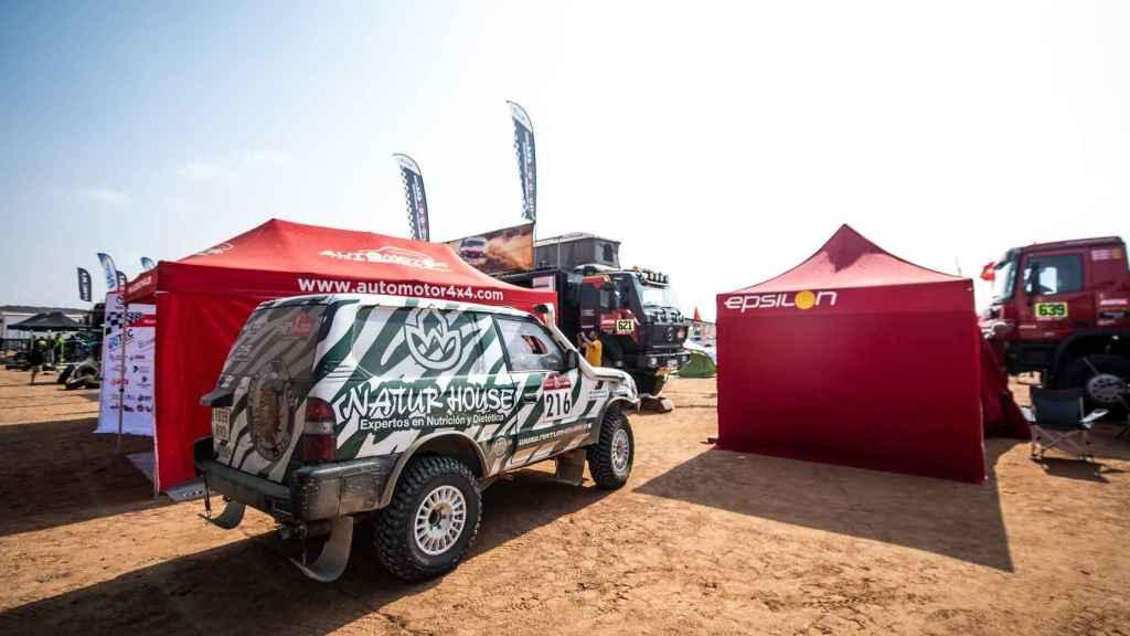Kilian Revulta, en el Dakar Classic 2021