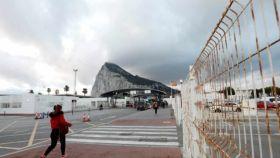 La valla de Gibraltar en una imagen de archivo.