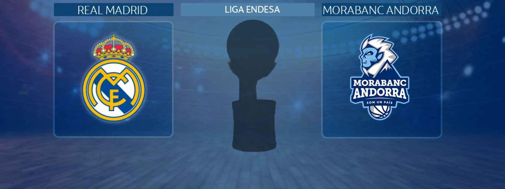 Real Madrid - MoraBanc Andorra, partido de la Liga Endesa