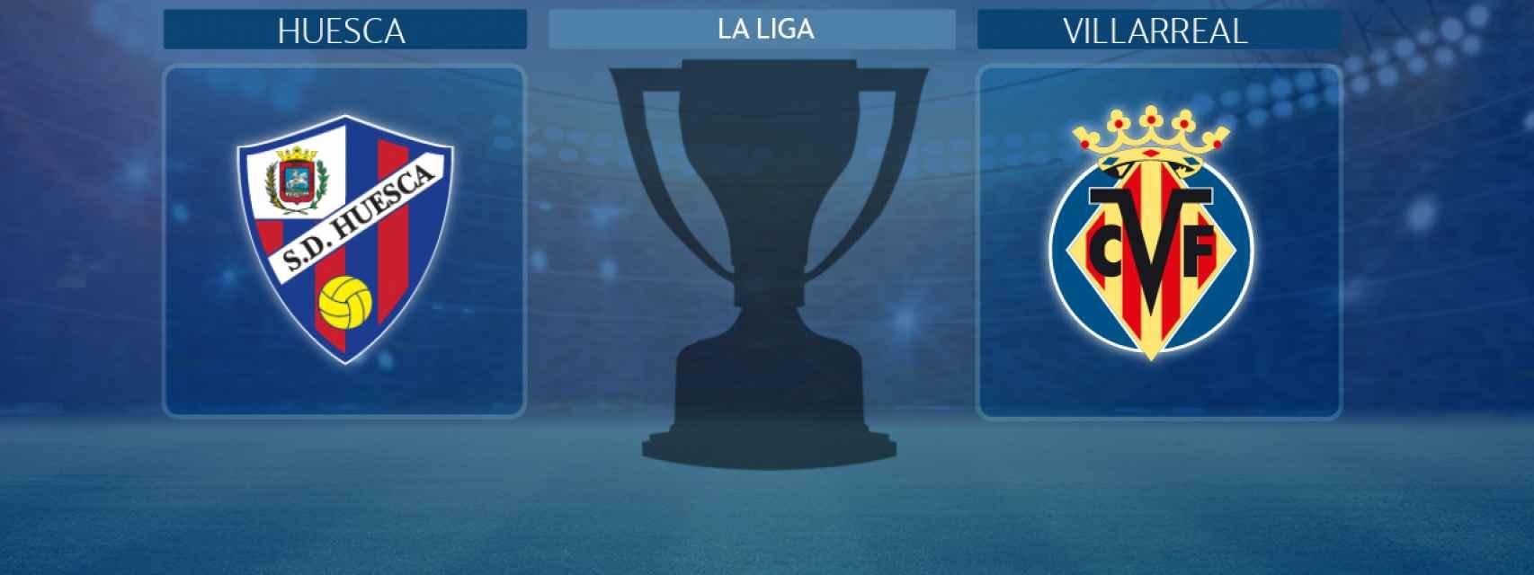 Huesca - Villarreal, partido de La Liga