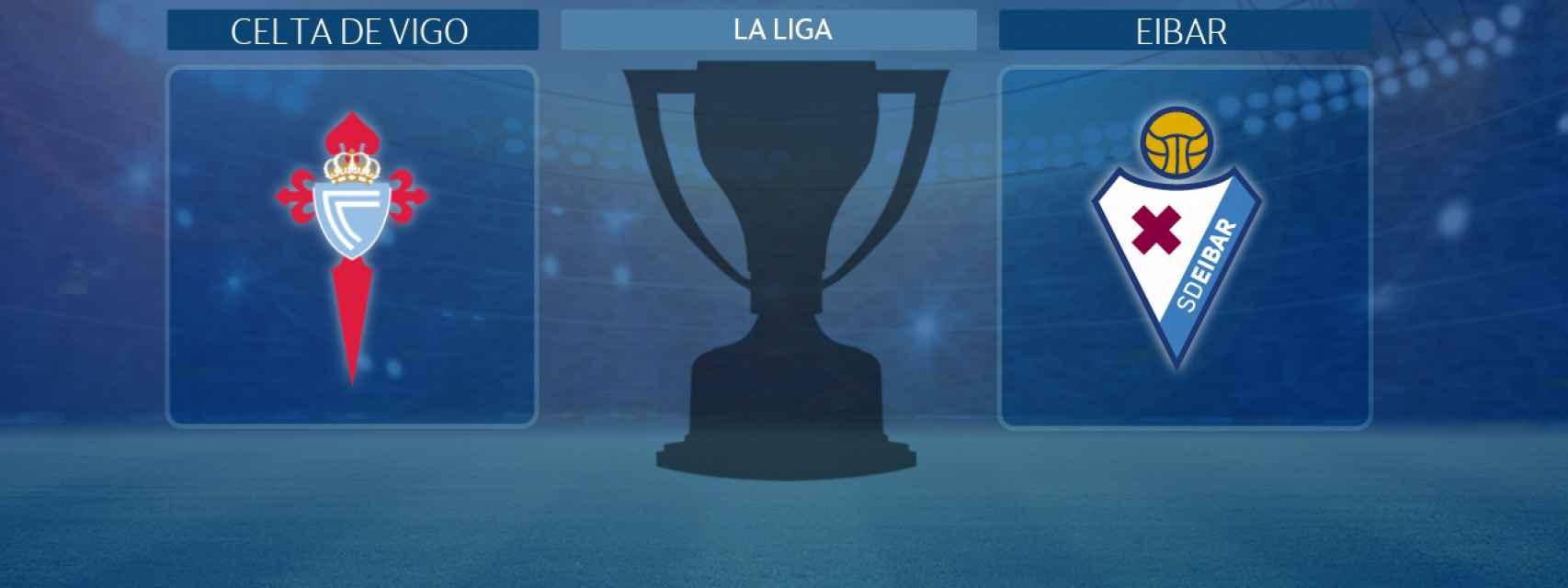 Celta de Vigo - Eibar, partido de La Liga