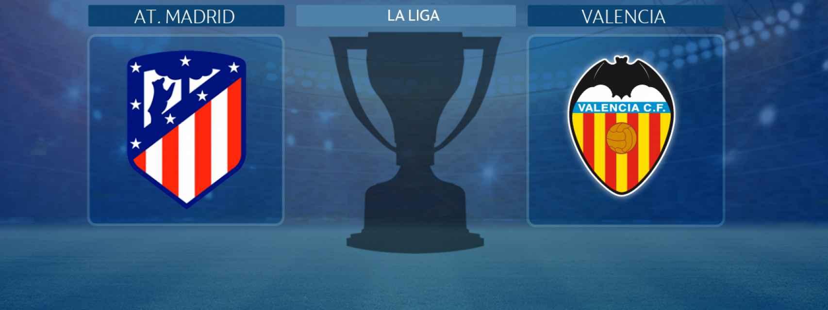 Atlético de Madrid - Valencia, partido de La Liga