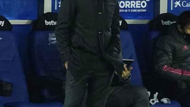 Bettoni, ayudante de Zidane, analiza en rueda de prensa la victoria del Real Madrid ante el Alavés