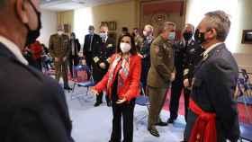 FOTO: La ministra Robles junto al JEMAD, a la derecha (M.F.J./Europa Press)