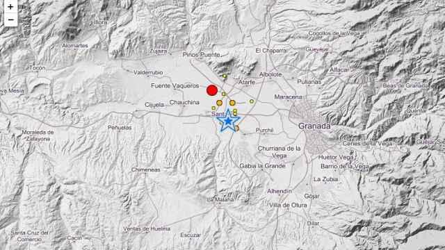Terremoto de magnitud 4,4 con epicentro en Santa Fe, Granada.