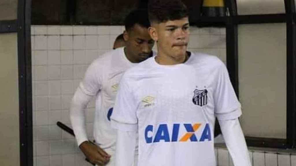 Marcus Molinari con el Santos