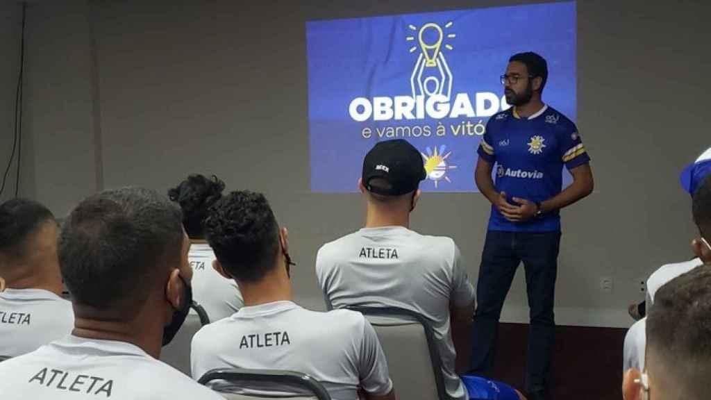 Charla del presidente del Palmas Fútbol