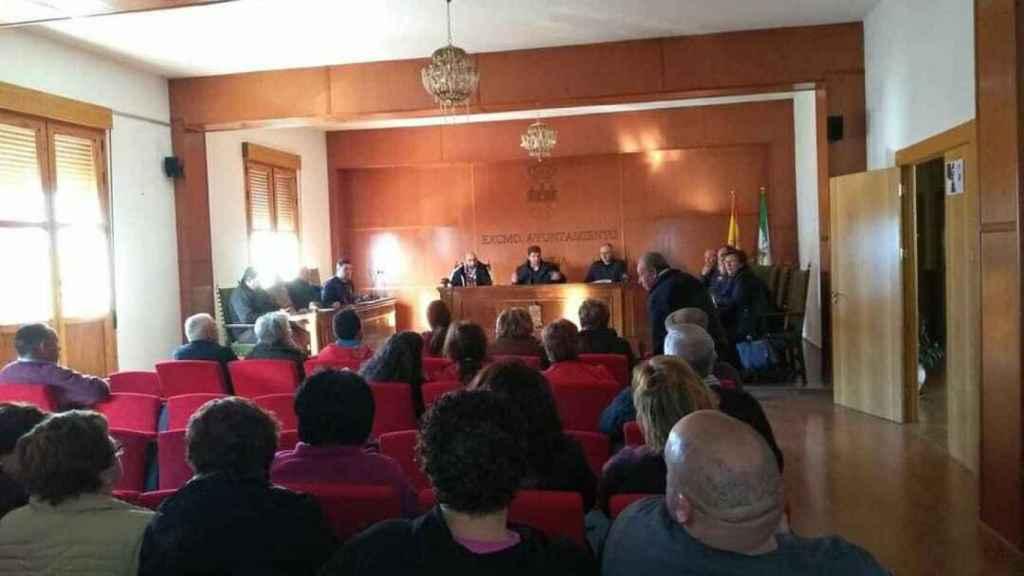 En tres ayuntamientos de la Comarca del Valle del Almanzora se celebraron pleno de apoyo a la solicitud de indulto de Juan Pedro.