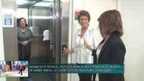 El delirante momento en el ascensor de Maria Patiño y Conchita en 'Sábado Deluxe'