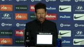 El pique de Simeone en rueda de prensa por Luis Suárez: No entiendo mucho la pregunta