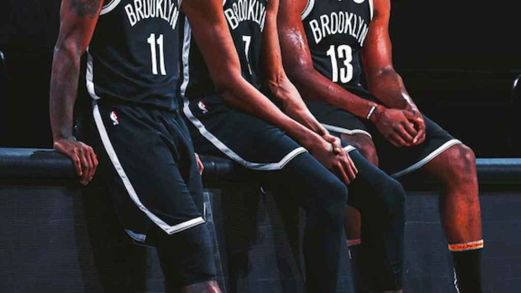 Irving, Durant y Harden