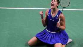 Carolina Marín celebra su segundo torneo en Tailandia