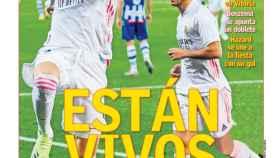 La portada del diario AS (24/01/2021)