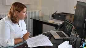 Tita García Élez, alcaldesa de Talavera, en una imagen de archivo