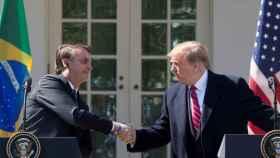 Jair Bolsonaro y Donald Trump, durante su reunión en la Casa Blanca.