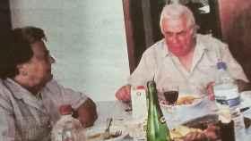 Rogelia y su marido Ramón, en una fotografía antigua.