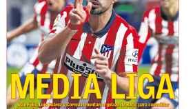 La portada del diario AS (25/01/2021)