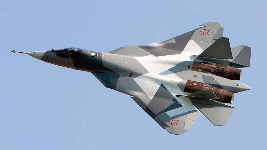 Prototipo de Sukhoi Su-57