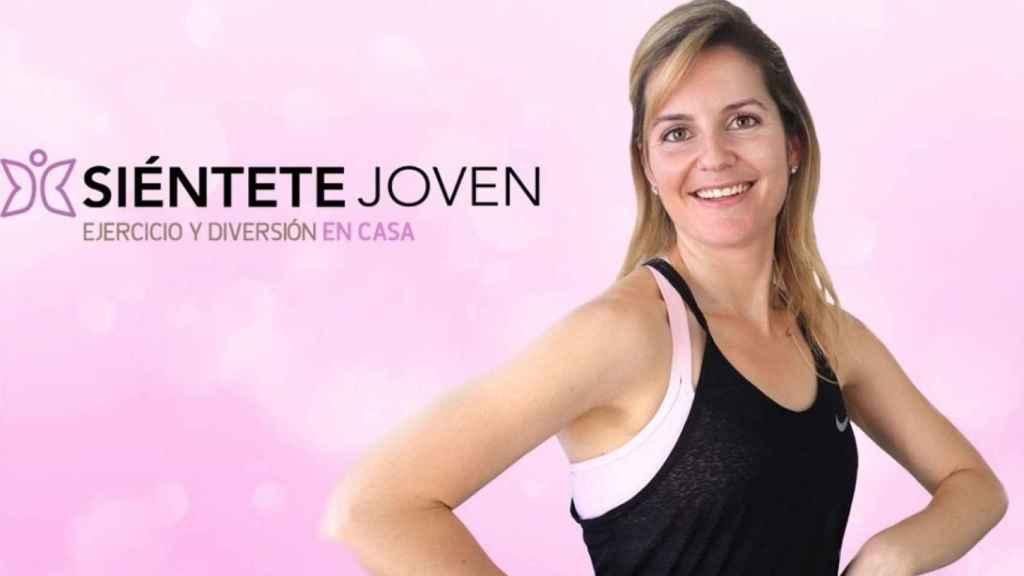 María Martínez, youtuber del canal Sientete Joven.