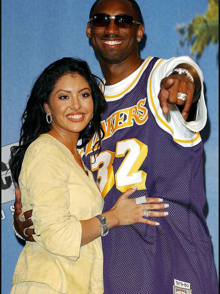 Vanessa y Kobe Bryant, en una imagen de archivo.