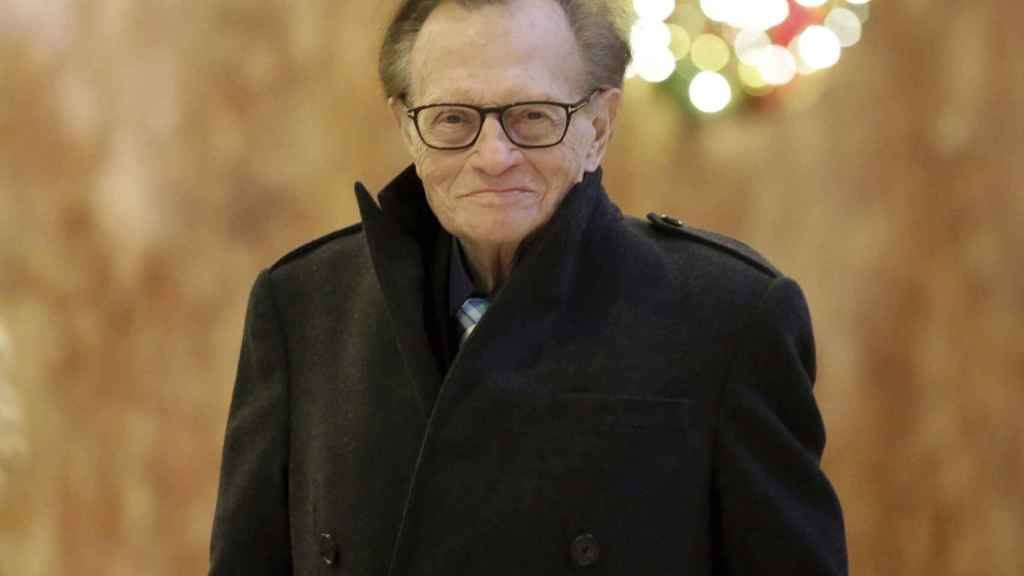Larry King en Nueva York en 2016.