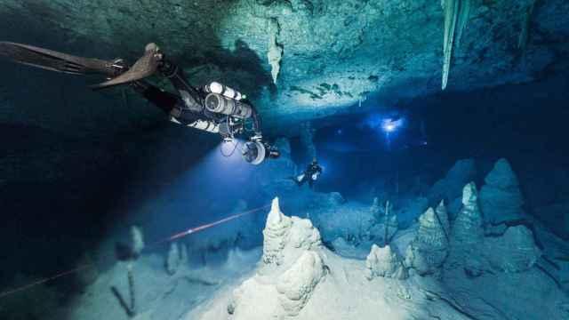 Una de las cuevas de Mallorca que están siendo investigadas.