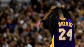 Kobe Bryant, durante un partido con Los Ángeles Lakers